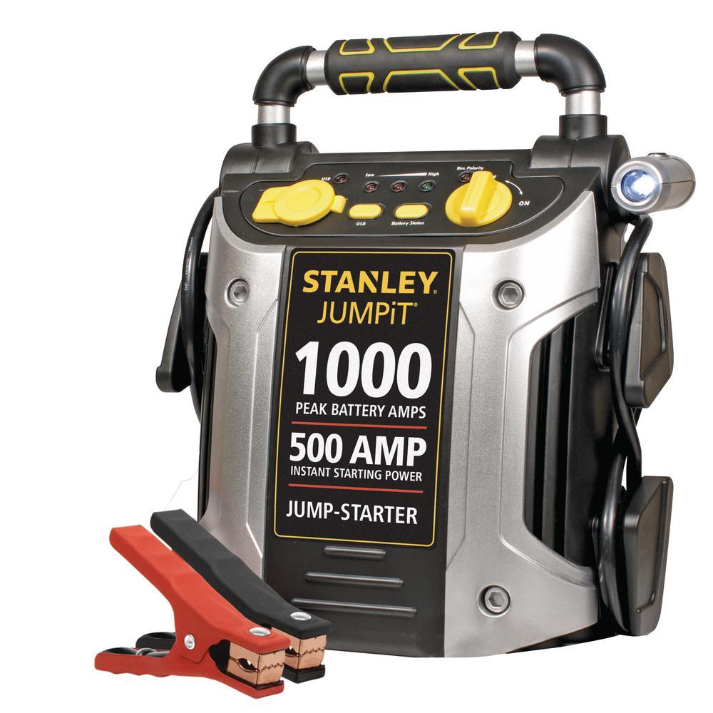 1000 Peak/500 Instant Amps Jump Starter