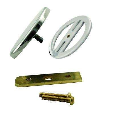 Illusionary Overflow Cover, Polished Nickel