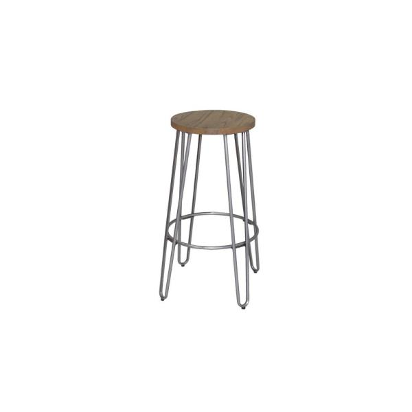 Ace Casual Furniture 23 82 In Chrome Bar Stool 0279001