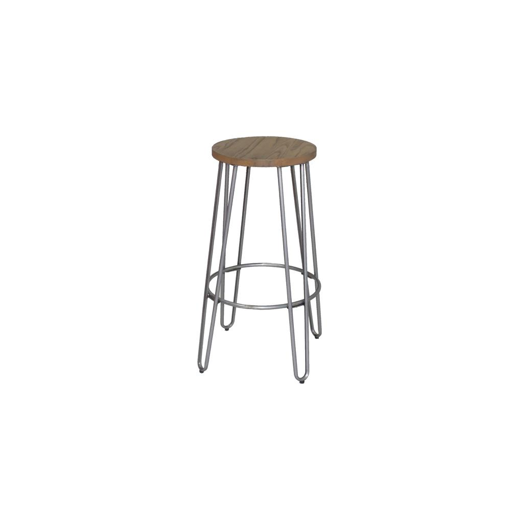 Ace casual furniture 23 82 in chrome bar stool