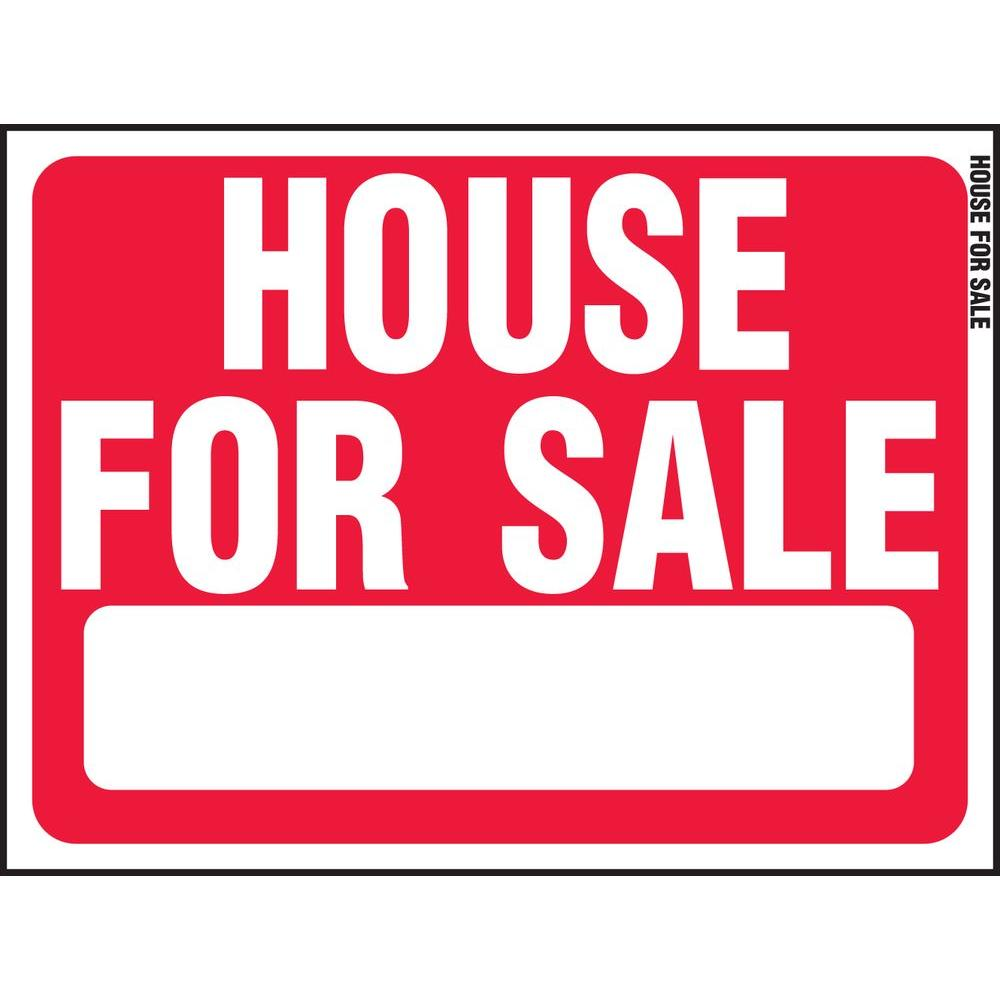 Hy Ko 18 In X 24 Plastic House For Sign Rs 607