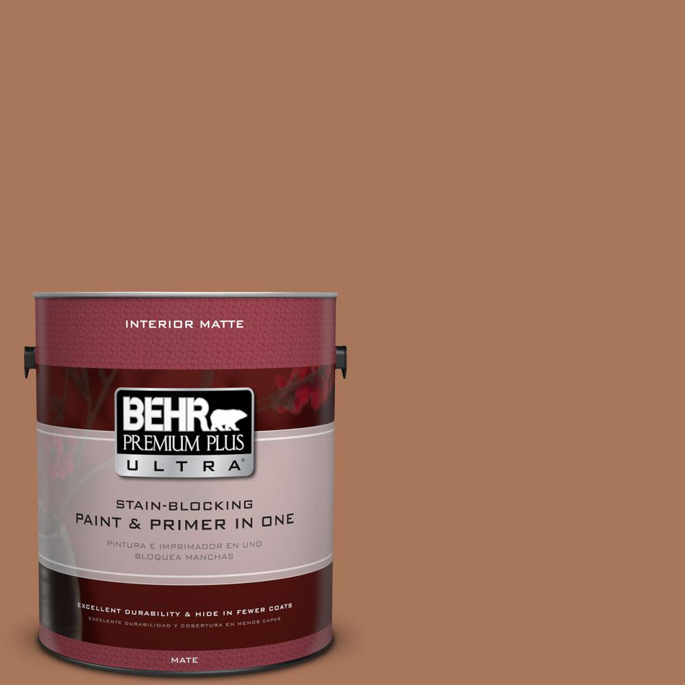 1 gal. #240F-5 Toasted Chestnut Flat/Matte Interior Paint