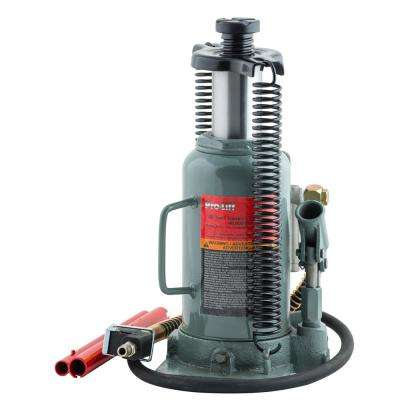 20-Ton Capacity Heavy-Duty Air Actuated Hydraulic Bottle Jack