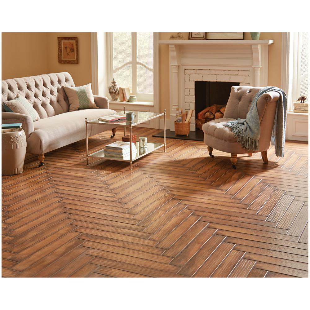 wood tile flooring. MARAZZI Montagna Caramello 4 In. X 28 Glazed Porcelain Floor And Wall Tile Wood Flooring E