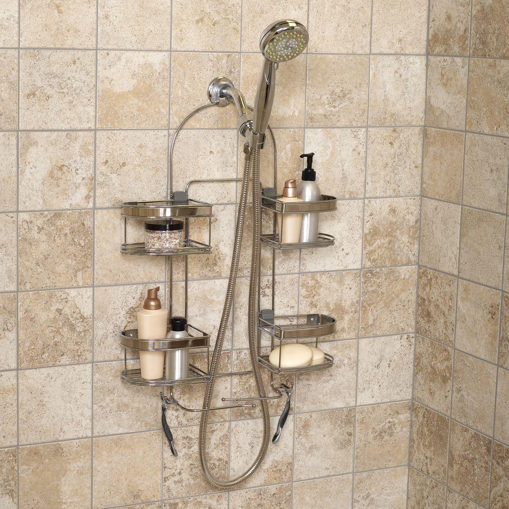 Shower Caddy For Hand Held