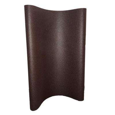 37 in. x 60 in. 40-Grit Aluminum Oxide X-Weight Cloth Sanding Wide Belt (2-Box)
