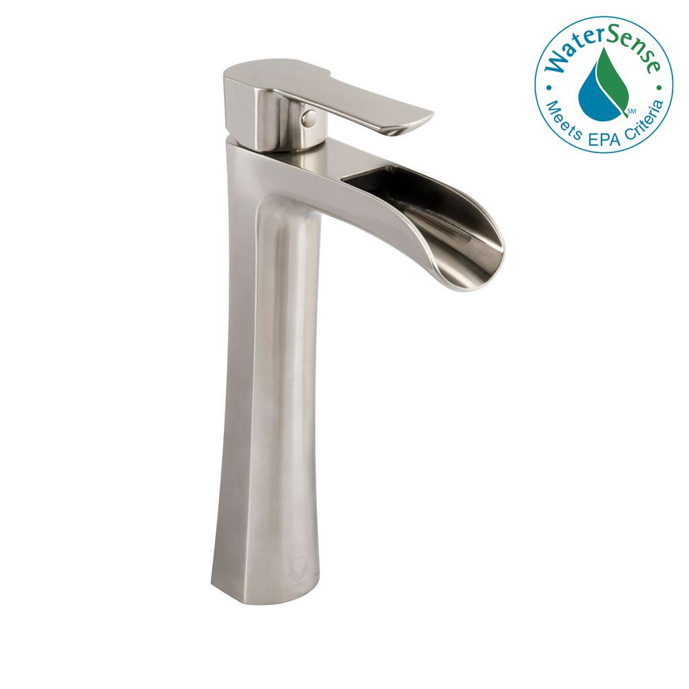 VIGO Niko Single Hole Single-Handle Vessel Bathroom Faucet in ...