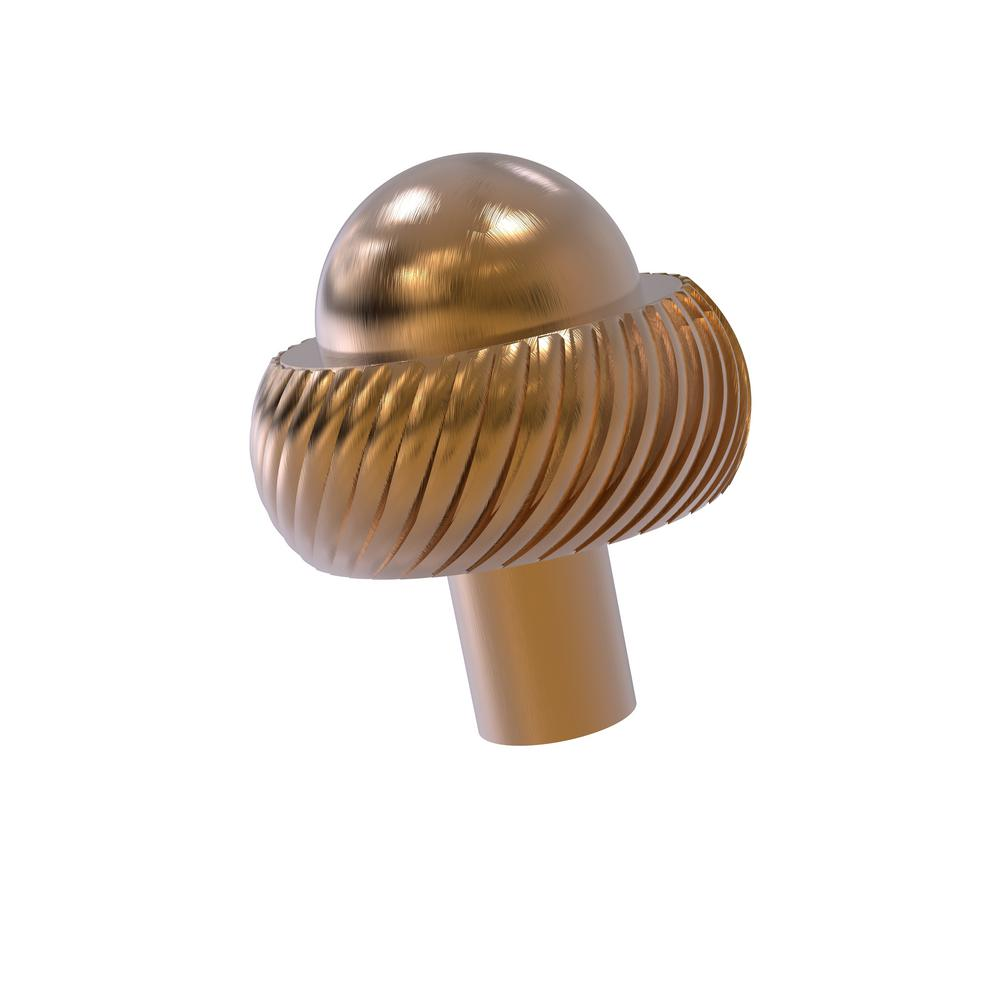 Allied Brass 1-1/2 in. Cabinet Knob in Brushed Bronze