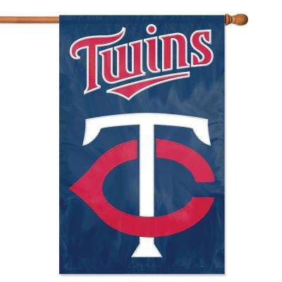 Minnesota Twins Applique Banner Flag