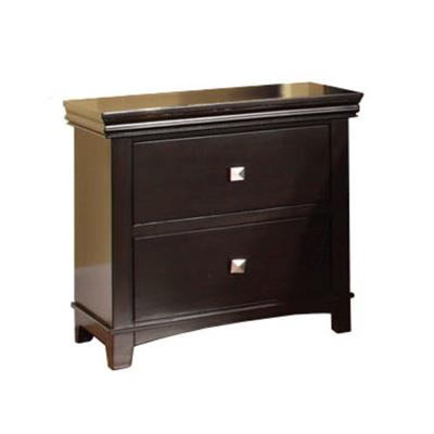 Spruce Transitional Style Brown Cherry Night Stand