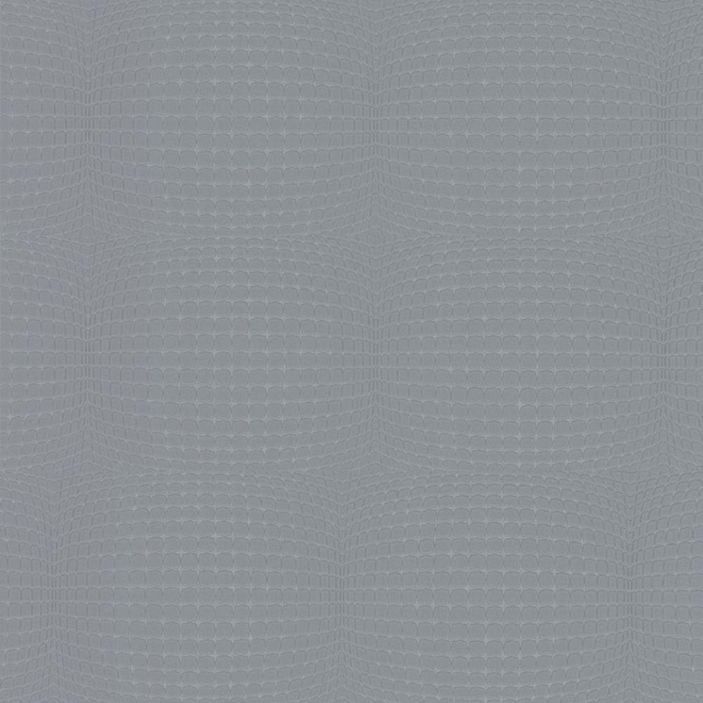 Graham & Brown 56 sq. ft. Mensa Gray Wallpaper