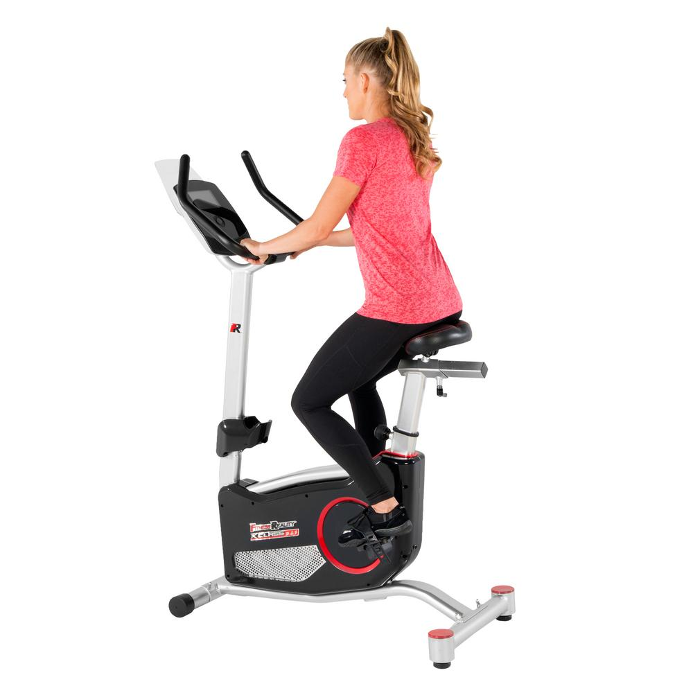 X-Class 310 Bluetooth Smart Technology Upright Exercise Bike with 20-Computer