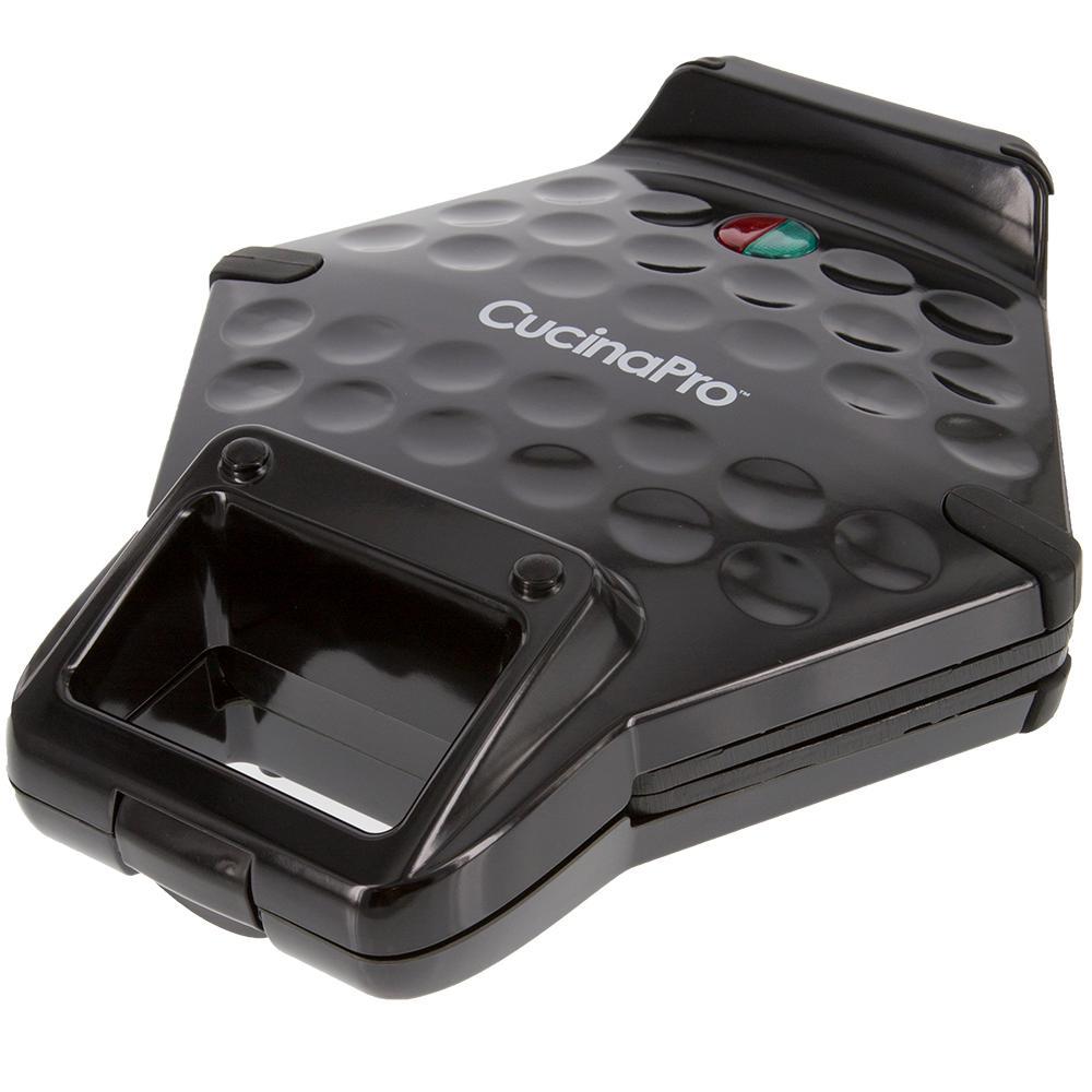 CucinaPro Bubble Waffle Maker in Black 1446B