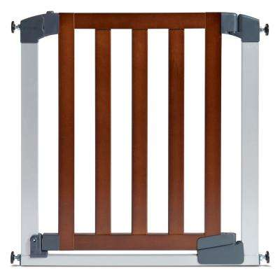 29 in. Auto Close Modern Baby Gate