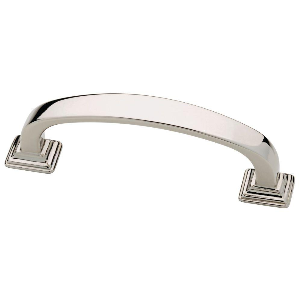 76mm Polished Nickel Drawer Pull