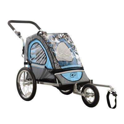 C12 Single Child 2-in-1 Bicycle Trailer, Jogger