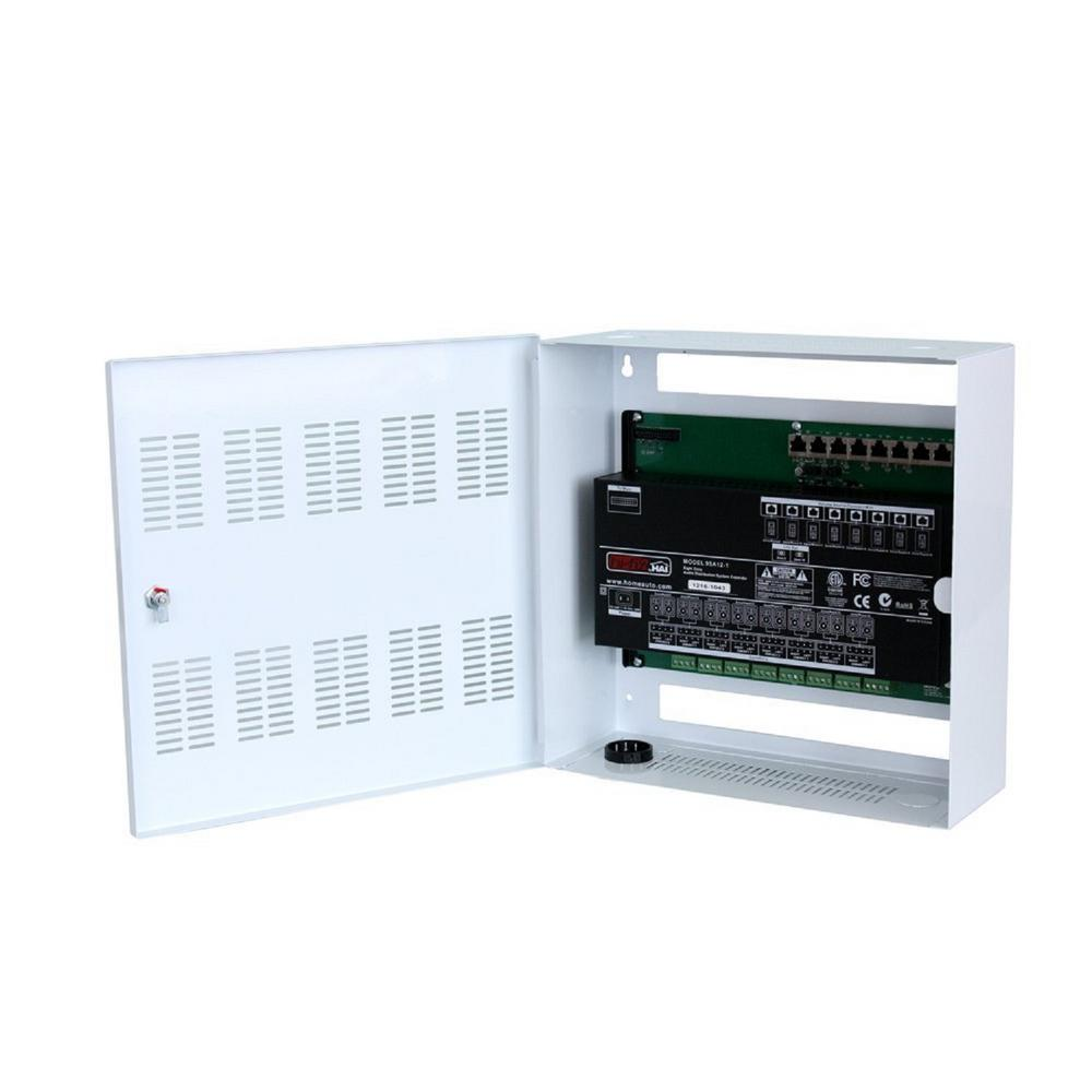 Leviton Structured Wiring Enclosure Schematics Diagrams Hi Fi 2 8 Zone Expansion Kit In 95a12 1 Media Panel Home