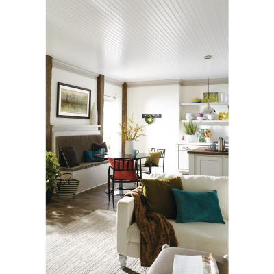 WoodHaven 5 in x 7 ft Beadboard Tongue and Groove Ceiling Plank (29 sq. ft./Case)