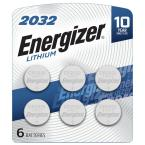 2032 Batteries (6 Pack), 3V Lithium Coin Batteries