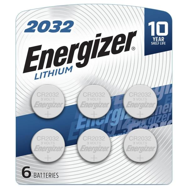 2032 Lithium Batteries (6-Pack)