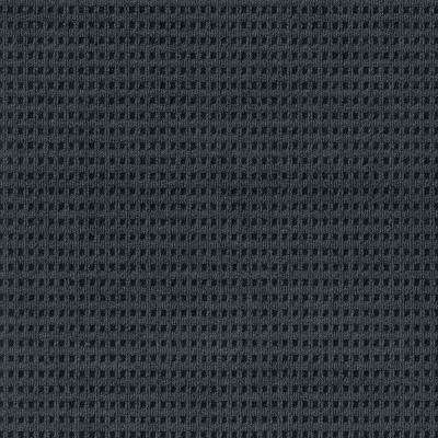 Premium Self-Stick First Impressions Tattersall Shadow with Black Texture 24 in. x 24 in. Carpet Tile (15 Tiles/Case)