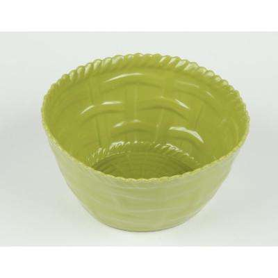 Woven Sage Cereal Bowl (Set of 4)