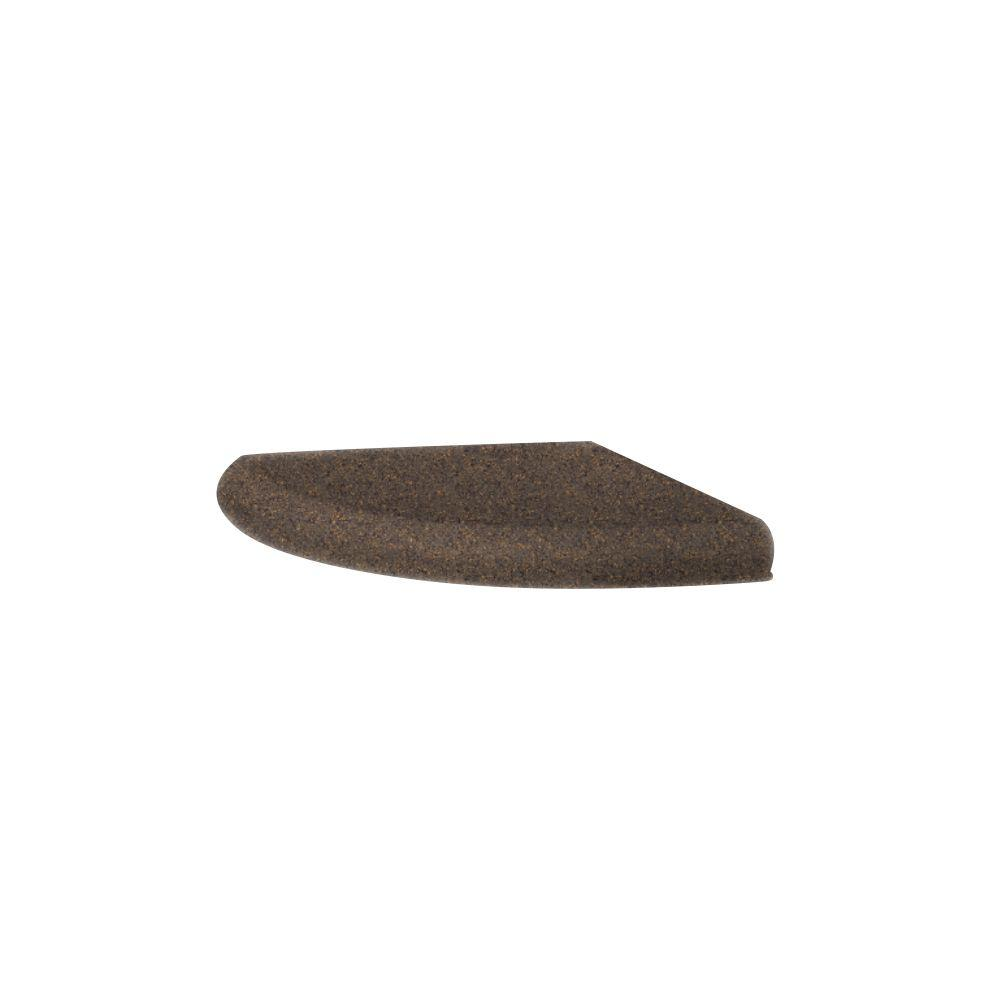 Swanstone Wall Mounted Corner Soap Dish in Sierra-DISCONTINUED
