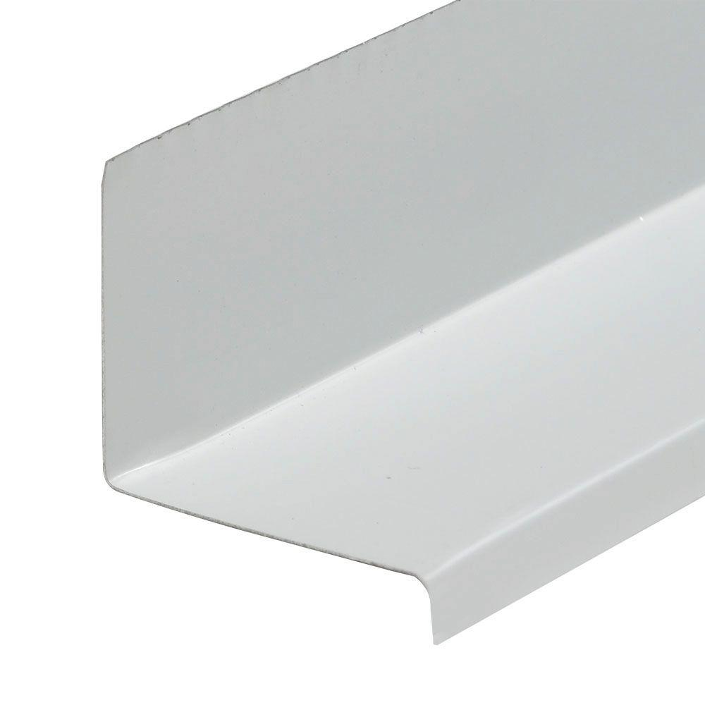 Amerimax Home Products 1-5/8 in  x 10 in  White Aluminum Window Cap