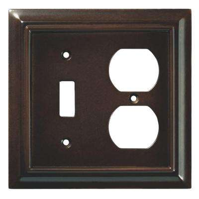 Architectural Wood Decorative Switch and Duplex Outlet Cover, Espresso