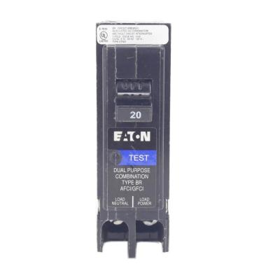 Tremendous Eaton Ch 20 Amp 1 Pole Self Test Ground Fault Circuit Breaker With Wiring Digital Resources Minagakbiperorg
