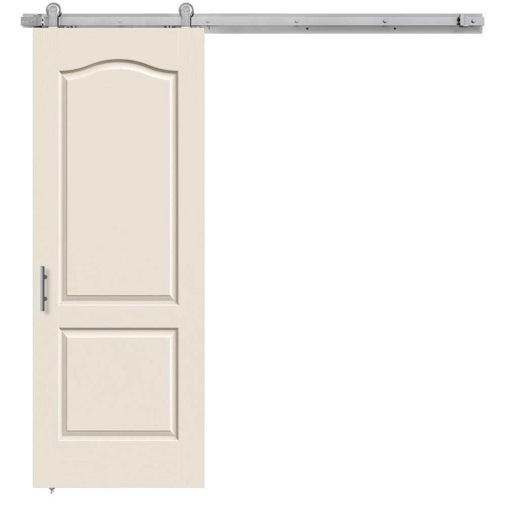 30 in. x 84 in. Camden Primed Smooth Molded Composite MDF