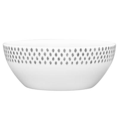 47 oz.Grey Hammock Small Serving Bowl
