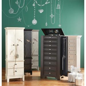 Home Decorators Collection Chirp Black Jewelry Armoire1972400210
