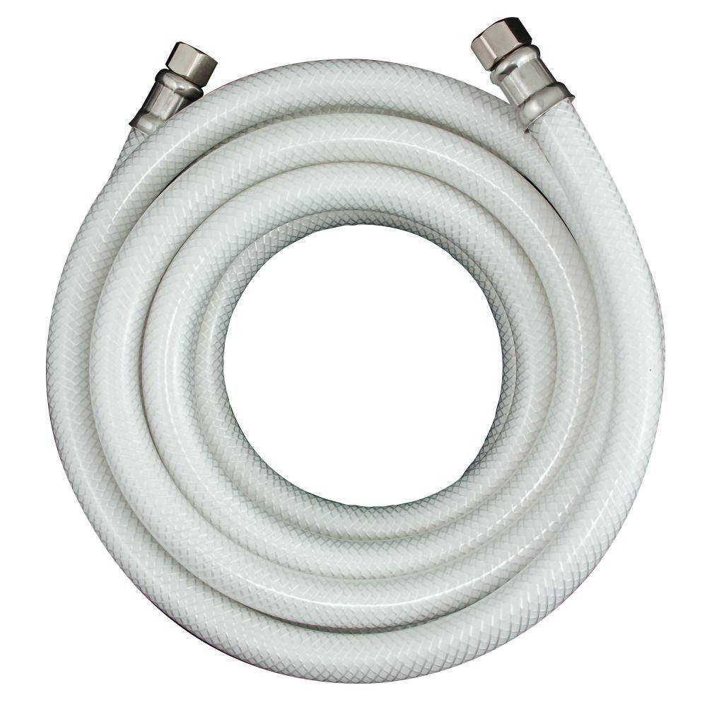 null 1/4 in. O.D. x 1/4 in. I.D. x 10 ft. PVC Icemaker Supply Line