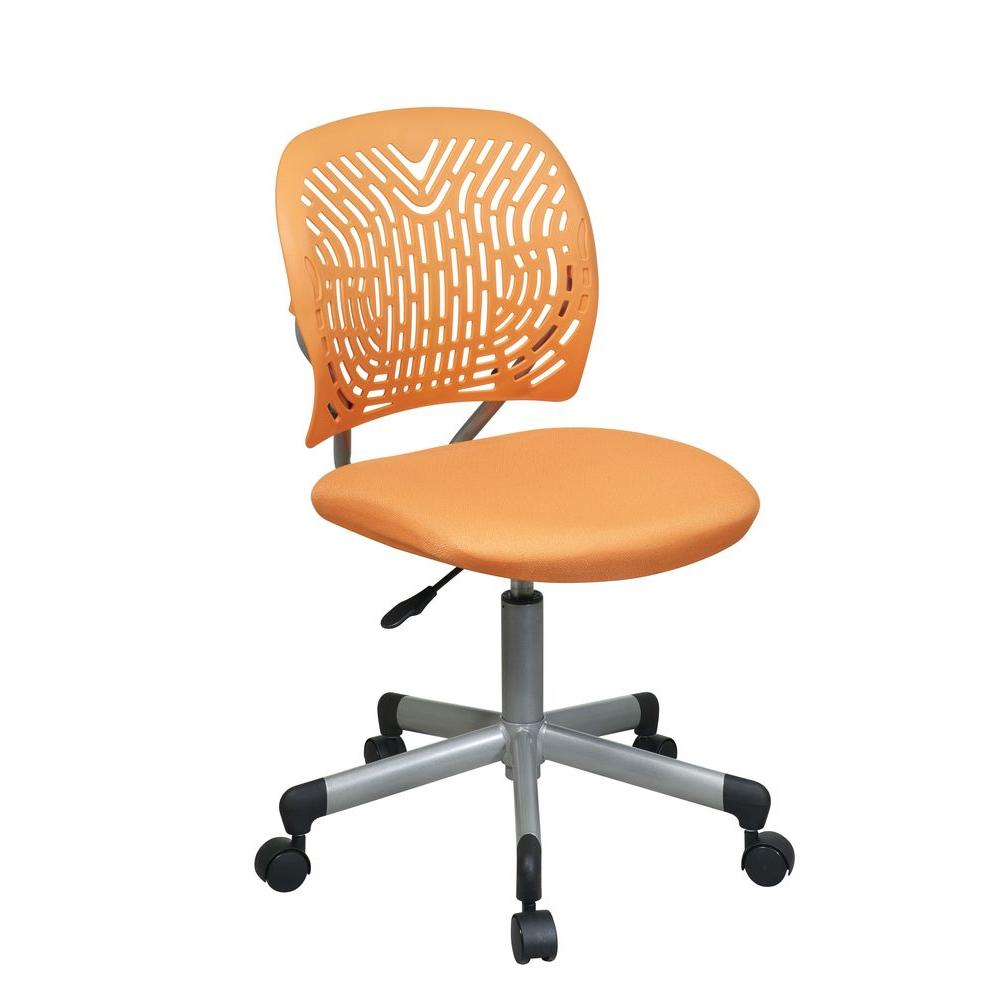 Revv Orange Office Chair