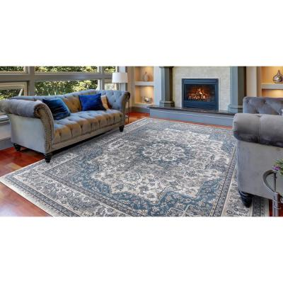 Blue Area Rugs The Home Depot