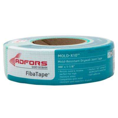 FibaTape Mold-X10 300 ft. Self-Adhesive Mesh Drywall Joint Tape