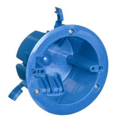 1-Gang 18 cu. in. Round Old Work Electrical Ceiling Box
