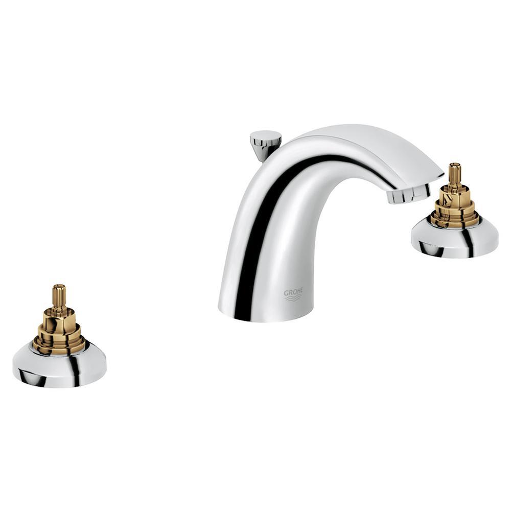 Arden 8 in. Widespread 2-Handle 1.2 GPM Bathroom Faucet in StarLight