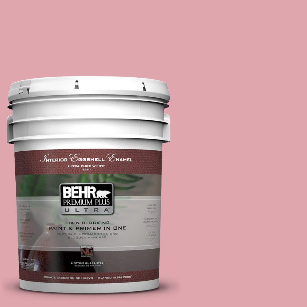 BEHR Premium Plus Ultra 5-gal. #M150-3 Apple Blossom Eggshell Enamel Interior Paint