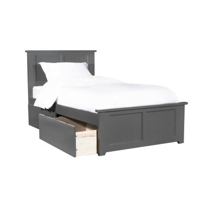 Twin Xl Platform Beds Bedroom Furniture The Home Depot