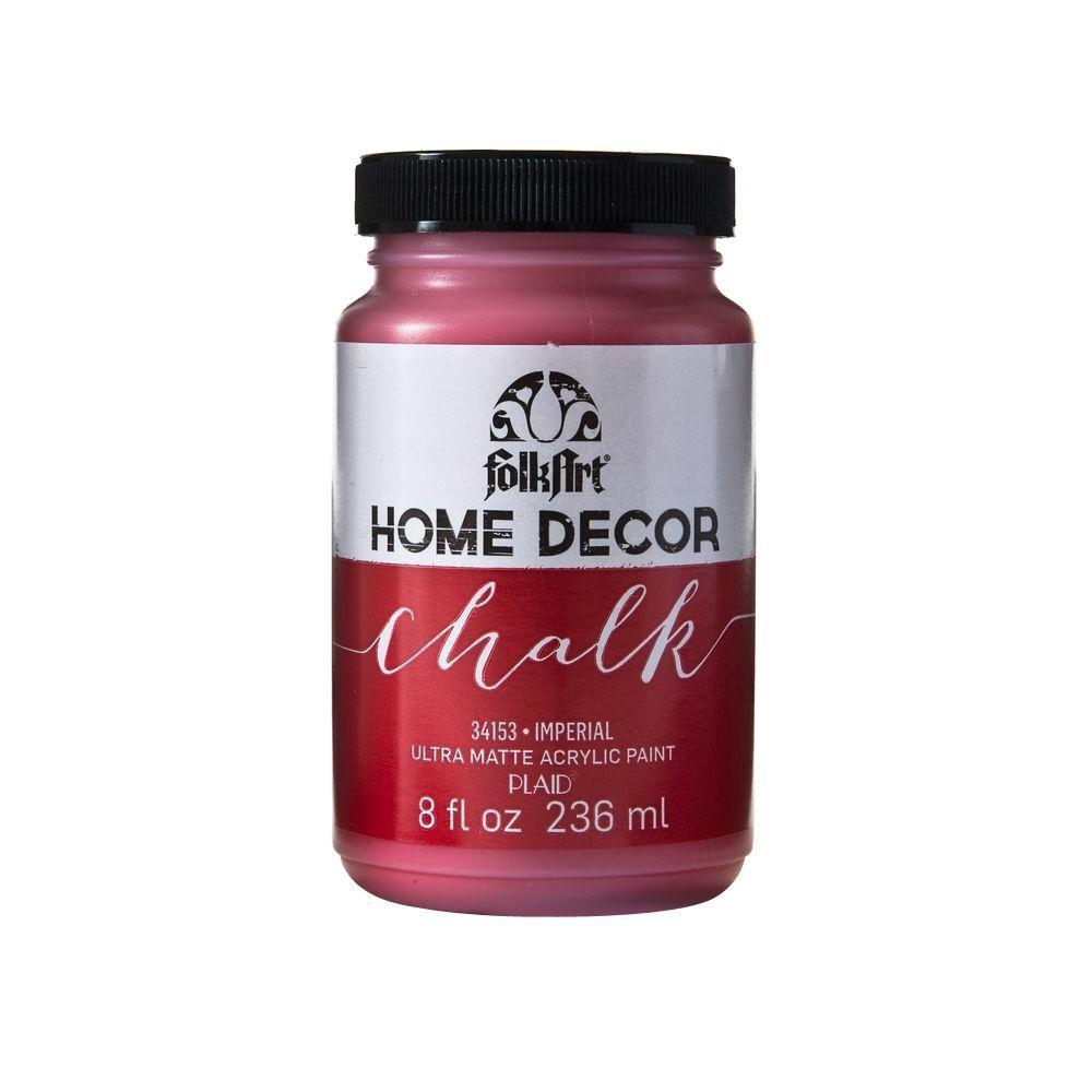 Home Decor 8 oz. Imperial Ultra-Matte Chalk Finish Paint
