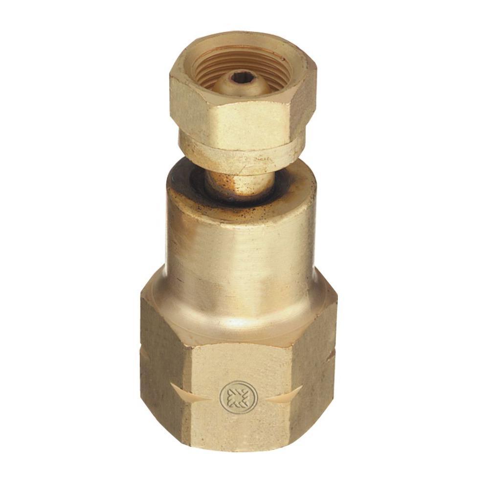 Thoroughbred industrial cylinder exchange cga valve to