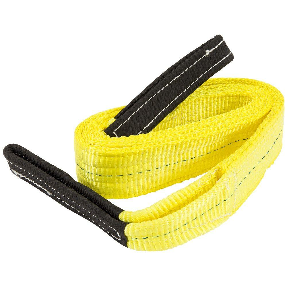 Keeper 3 in. x 10 ft. 2 Ply Flat Loop Polyester Lift Sling