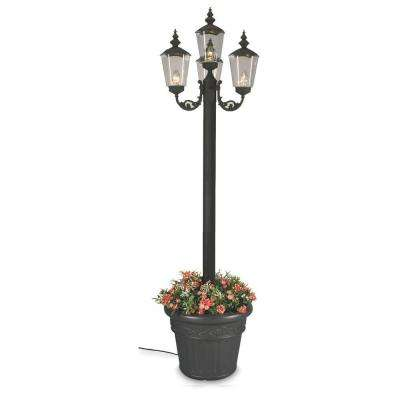 Black Cambridge Park Lantern Planter