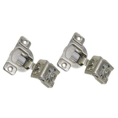 1-1/2 in. Overlay (35 mm) 110-Degree Soft-Close Face Frame Cabinet Hinge (12-Pair)