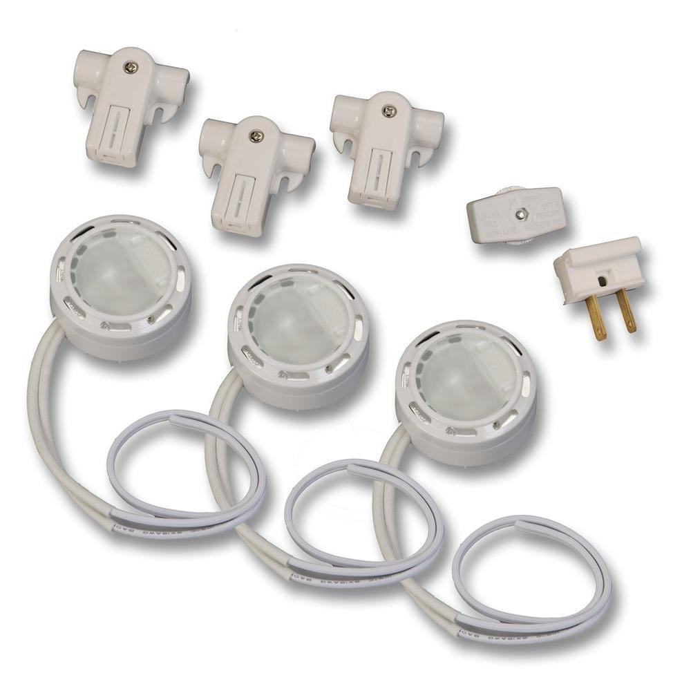 120-Volt Xenon White Accent Light Kit (3-Pack)