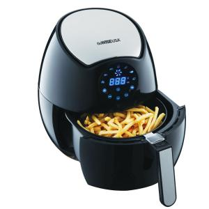 GoWISE USA 3 7 Qt Digital Touchscreen Control Air Fryer With Rapid Air Frying