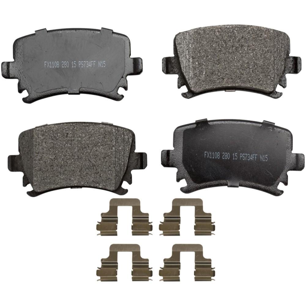 ProSolution Semi-Metallic Brake Pads - Rear