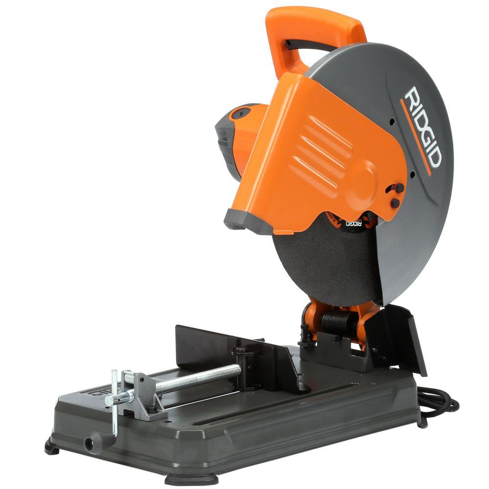 RIDGID 15 Amp 14 in. Abrasive Cut-Off Machine-R41421 - The Home Depot